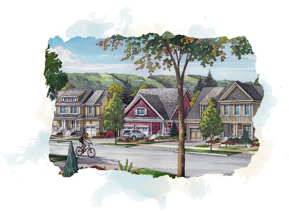 concept of neighbordhood at windfall blue mountain