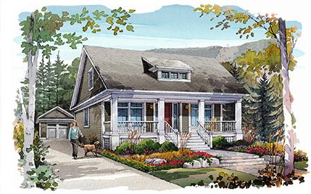 art concept home design