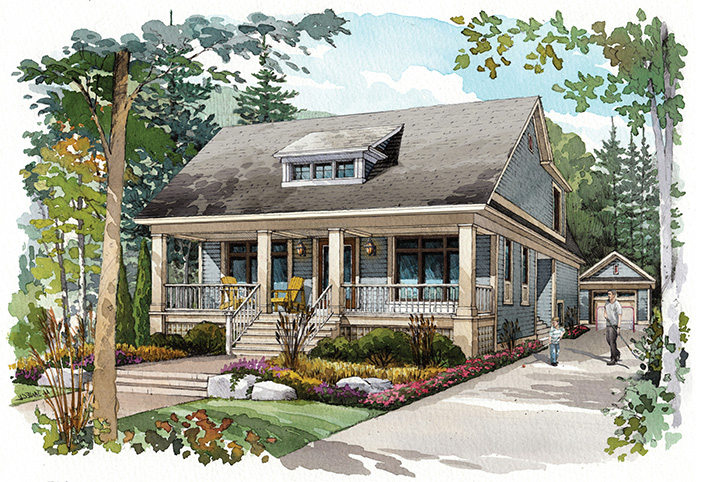 mountain home designs floor
