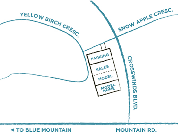 Contact Windfall At Blue - Semi Detached and Detached